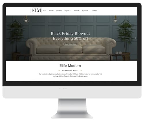 Elite Modern website by | Infinite Creations Atlanta