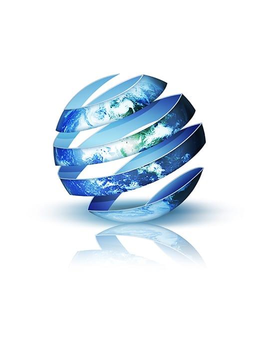 Globe into the design | Infinite Creations Atlanta