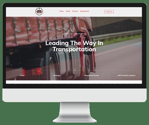 Lampkin Website by Infinite Creations Atlanta