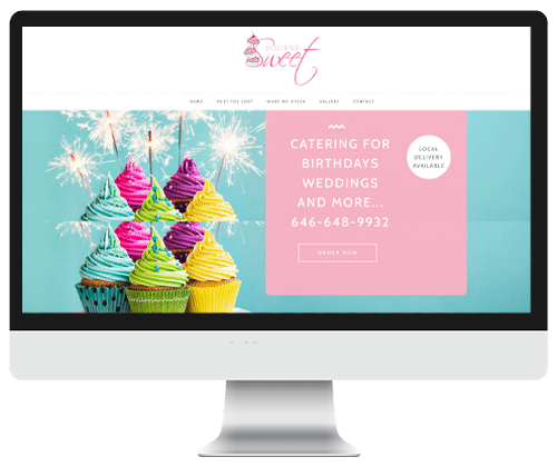 Bourne Sweet Web design by Infinite Creations Atlanta
