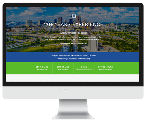 Zoltan Consulting Inc web design and powered by Infinite Creations Atlanta