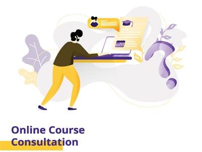 Website Online Course Consultation