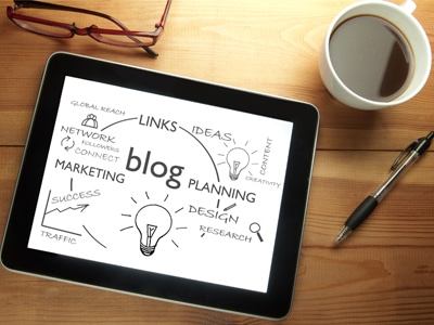 Blogs are good for seo with linking